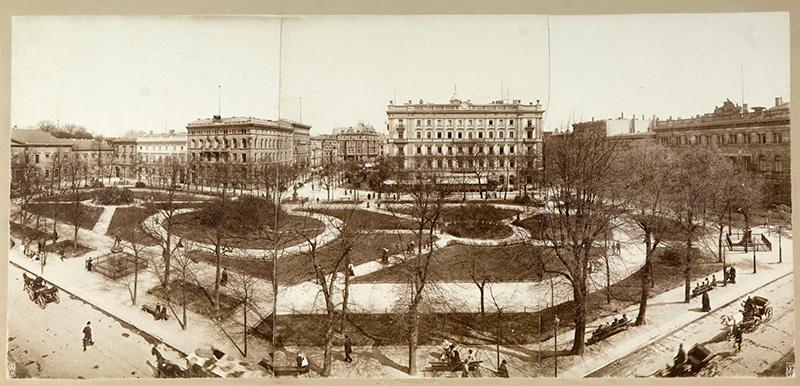 Der Wilhelmplatz, Berlin, 1904
