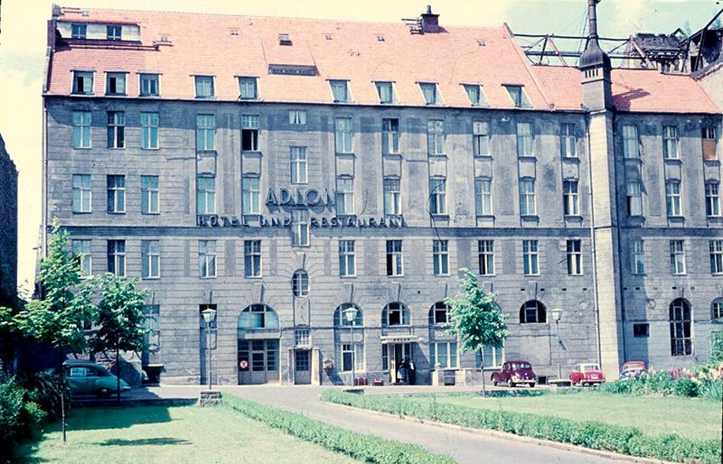 Hotel Adlon Wilhelmstraße, 1958