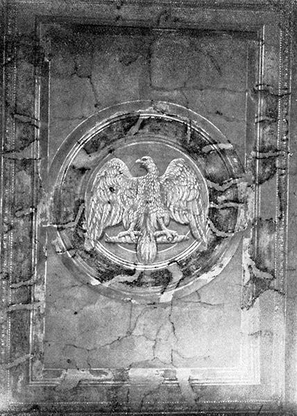 Deckenmalerei in der mitteleren Durchfahrt des Brandenburger Tores