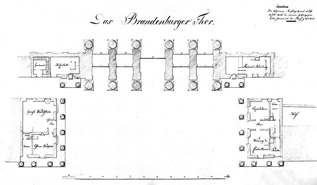 Grundriss zum Entwurf, Entwurf und Zeichnung: Blankenstein